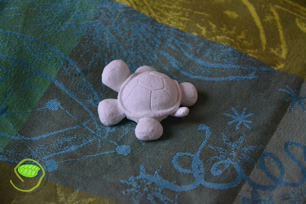 tortue en plâtre
