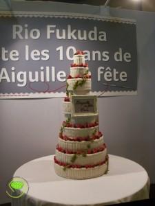 salon gâteau d'anniversaire de Rio