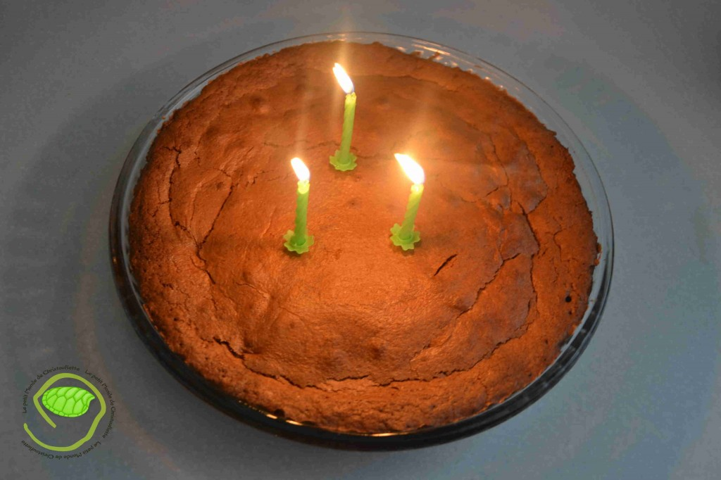 Un petit gâteau au chocolat tout simple mais super bon.