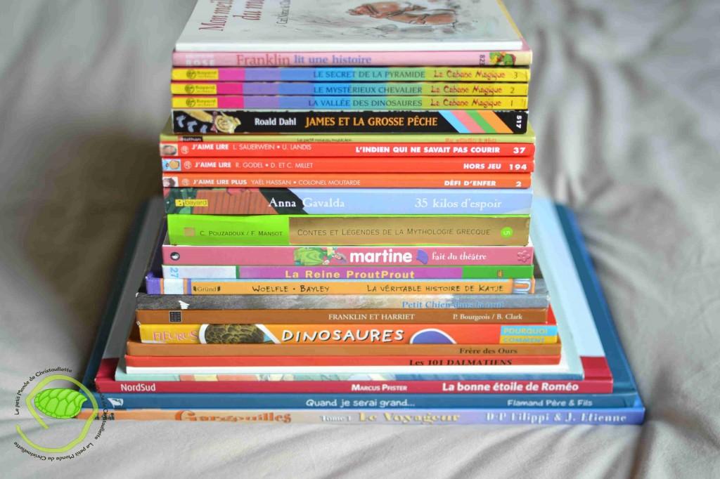 Nous sommes de très grands amateurs de livres et quand on peut en avoir plein pour le prix de deux ... on dit OUI !!!