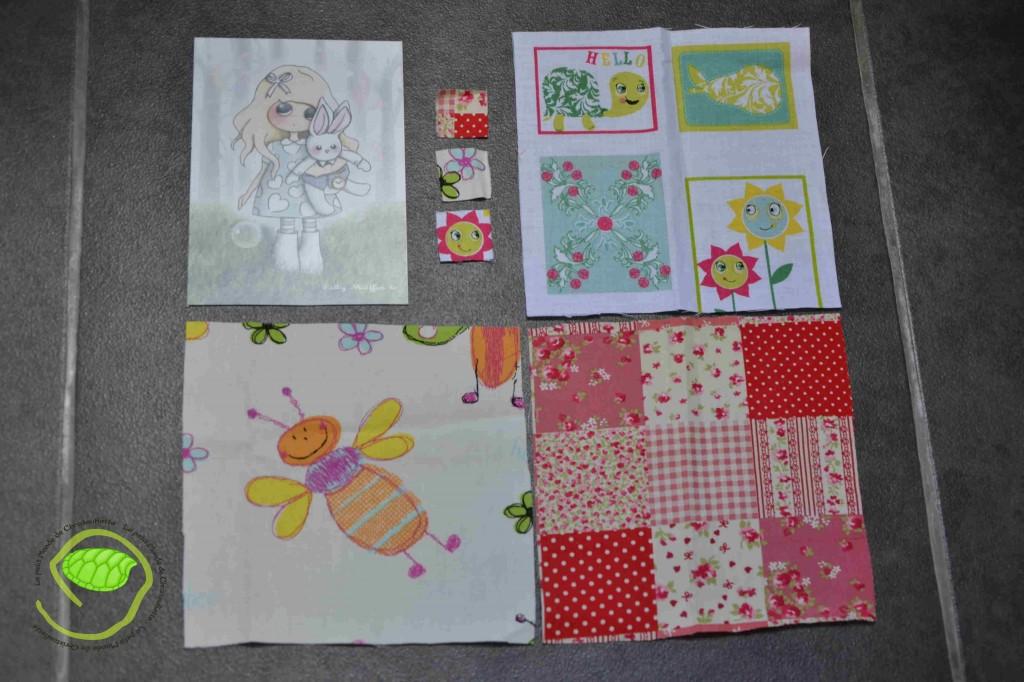 Une carte de Lilly Muffin, trois coupons et trois échantillons le tout glissé dans une enveloppe !