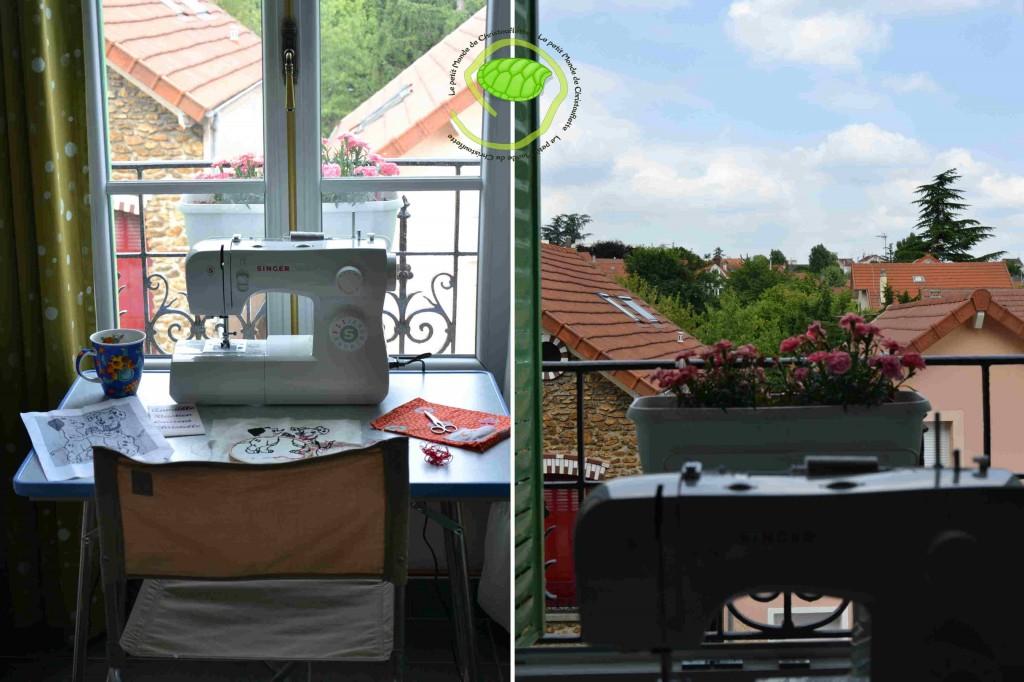 Le paysage est différent et l'air est plus respirable dans cette partie de l'appartement !