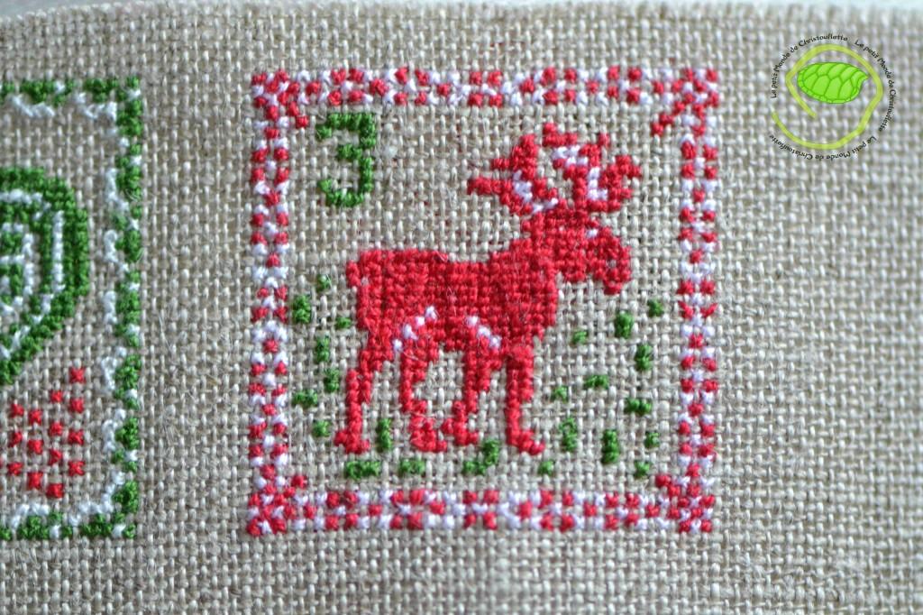 Un petit renne rouge !