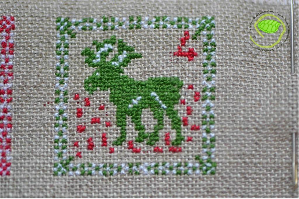Un renne vert !