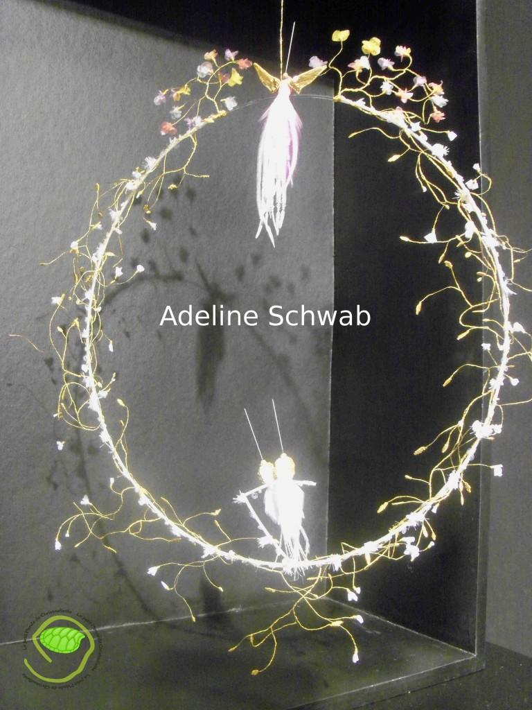 Une création d'Adeline Schwah très difficile à prendre en photo !