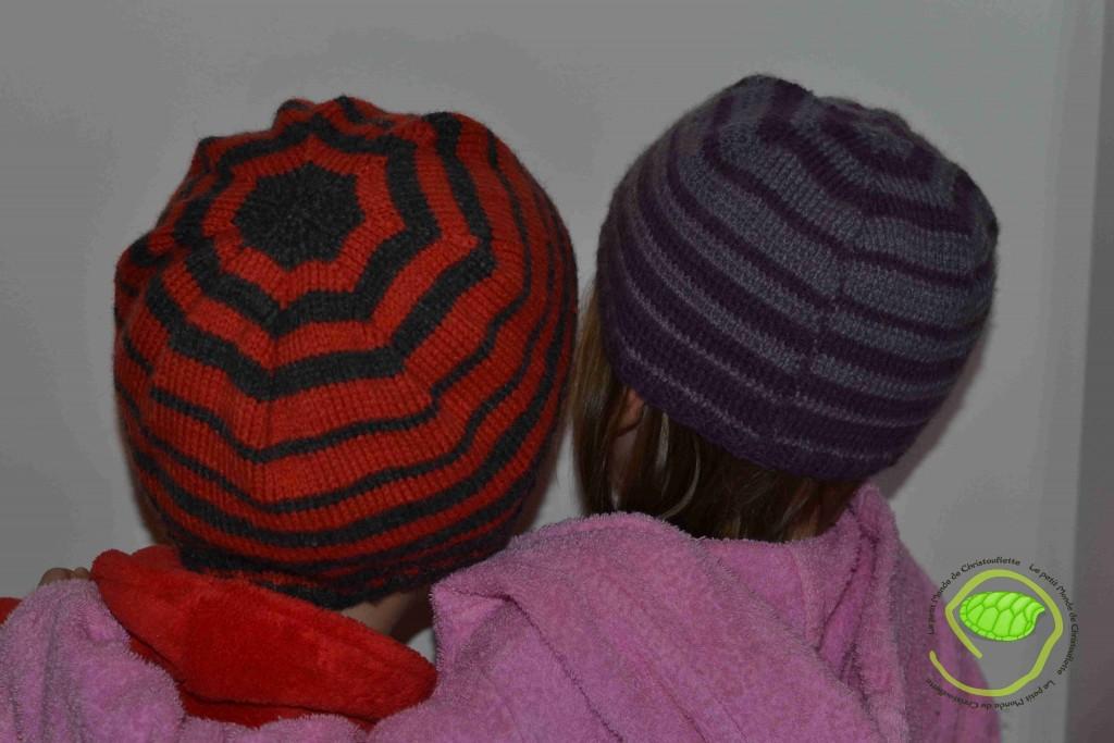 Deux bonnets Christouflette