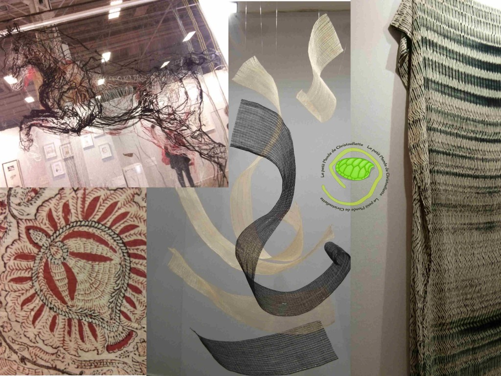 Expo calligraphie Shbori pieces orientales Atout Crin