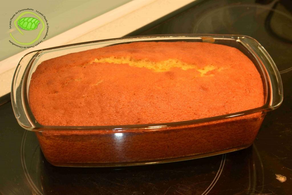cake à l'orange et à la vanille