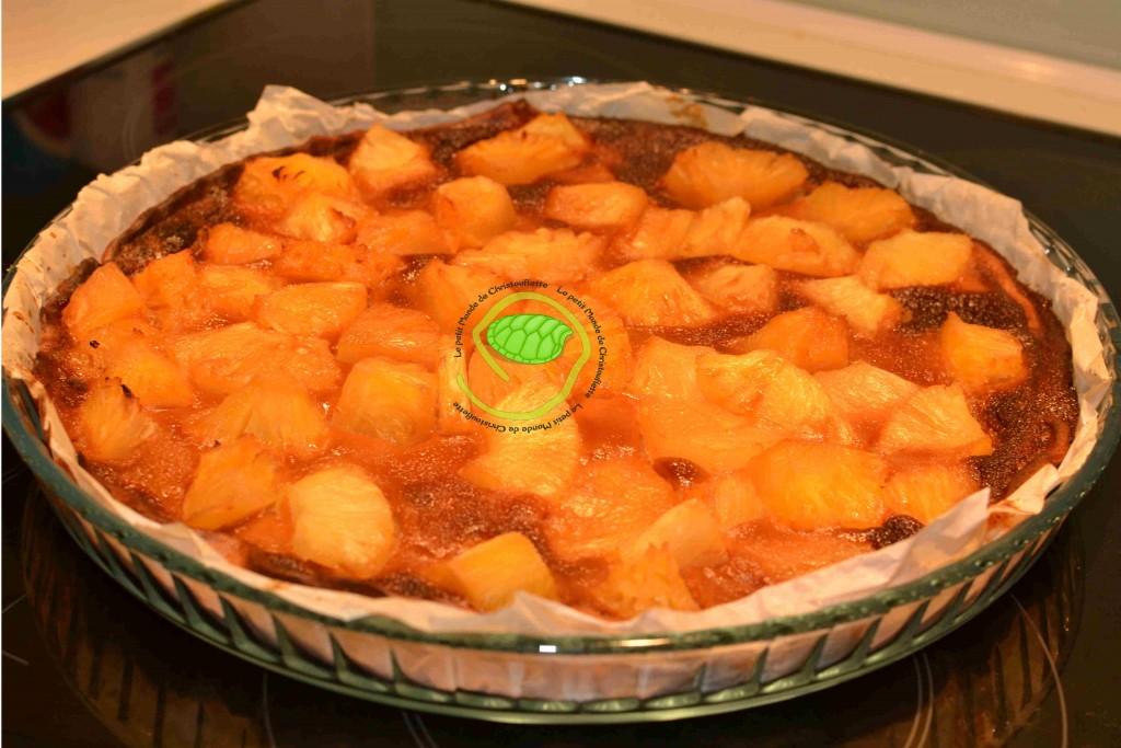 tarta ananas / vergeoise