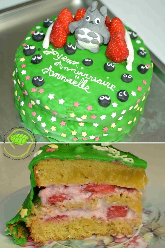 fraisier totoro