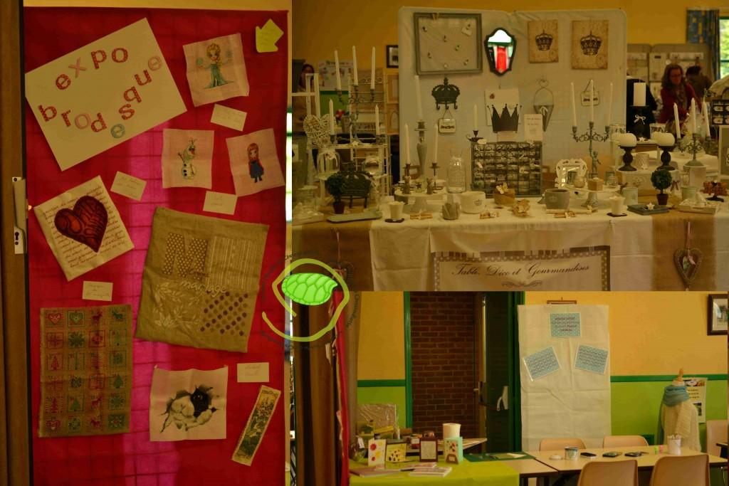 Valérie, l'expo et l'atelier
