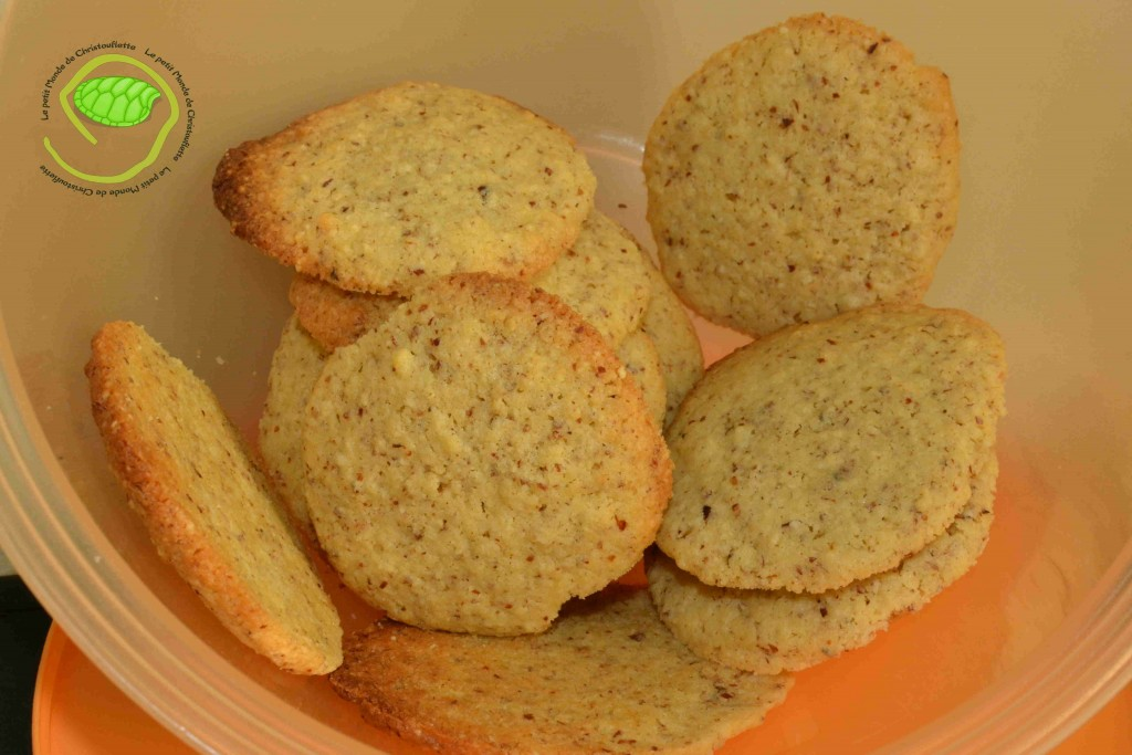 Biscuits amande/fleur d'oranger