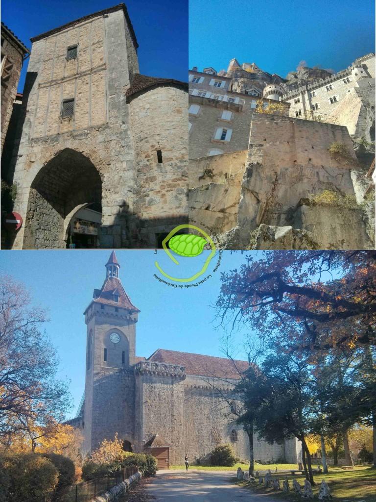 quelques monuments de Rocamadour