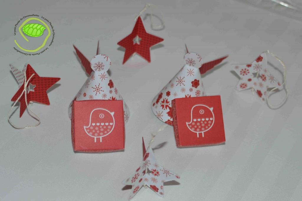 des decorations en papier pour les deux