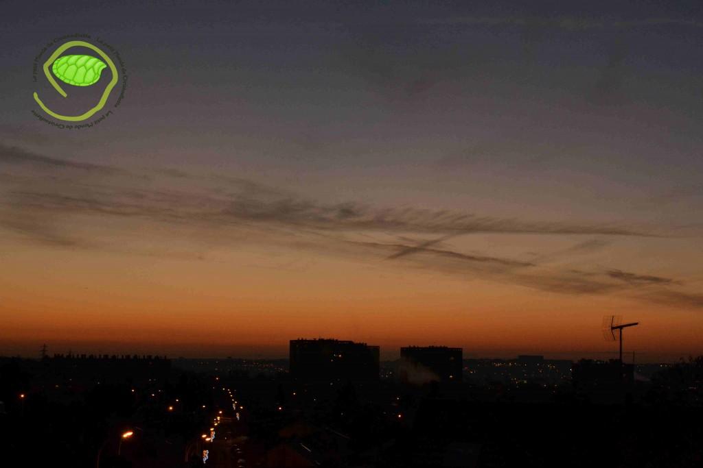 Le ciel du matin
