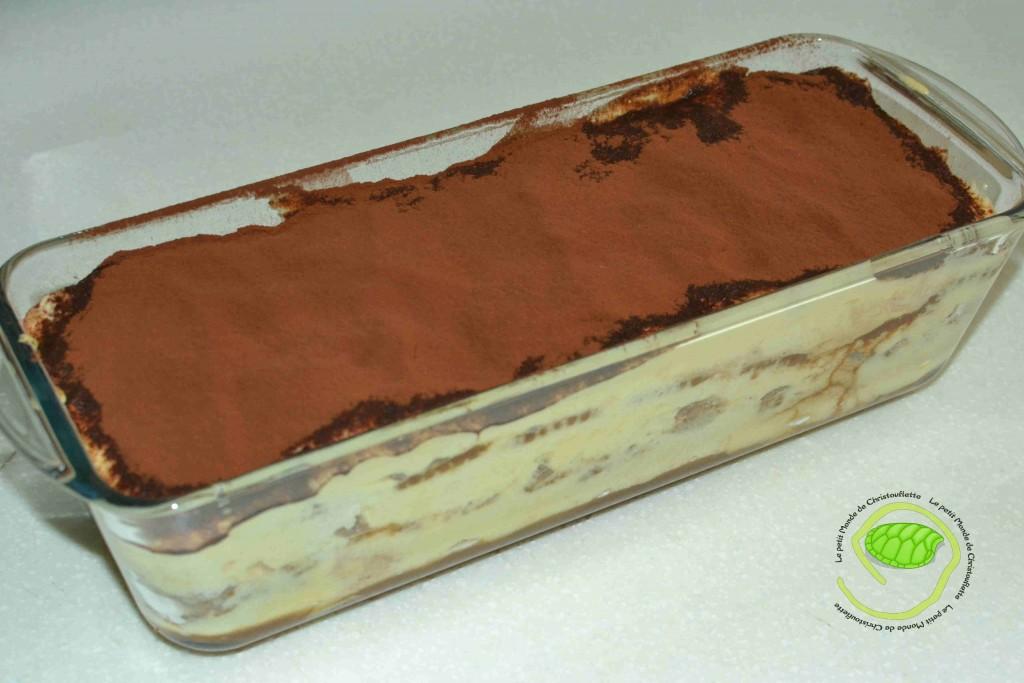 Turamisu chocolat / spéculoos