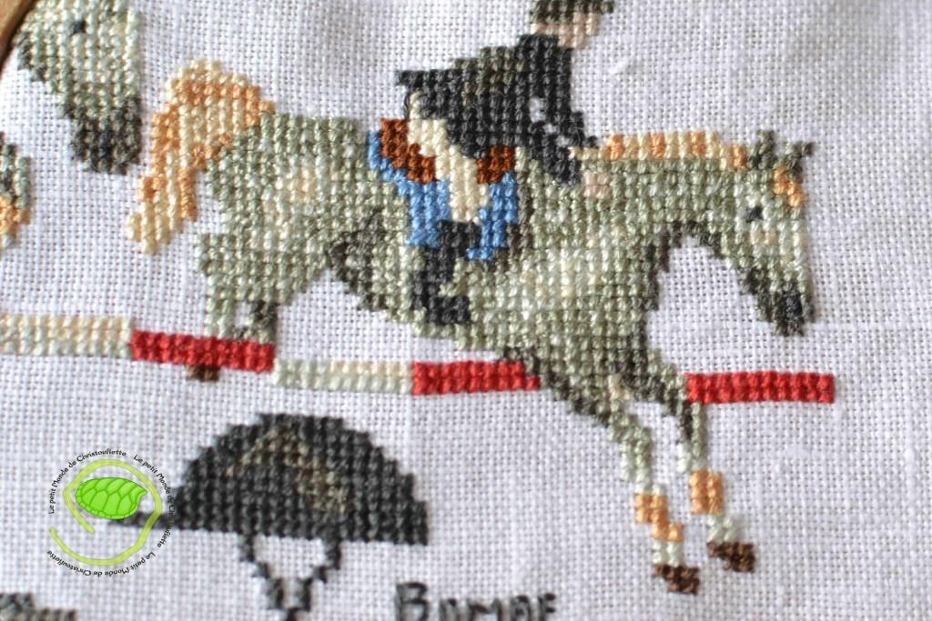 Etape 10 : Equitation