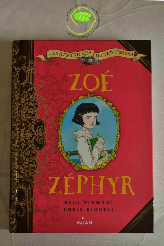 """Zoé Zéphyr"" de Chris Riddell"