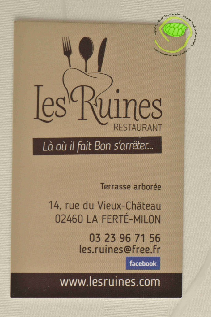 Adresse restaurant