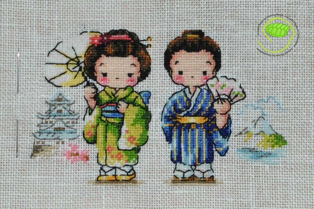 Etape 8 : globe trotteur : le couple japonais