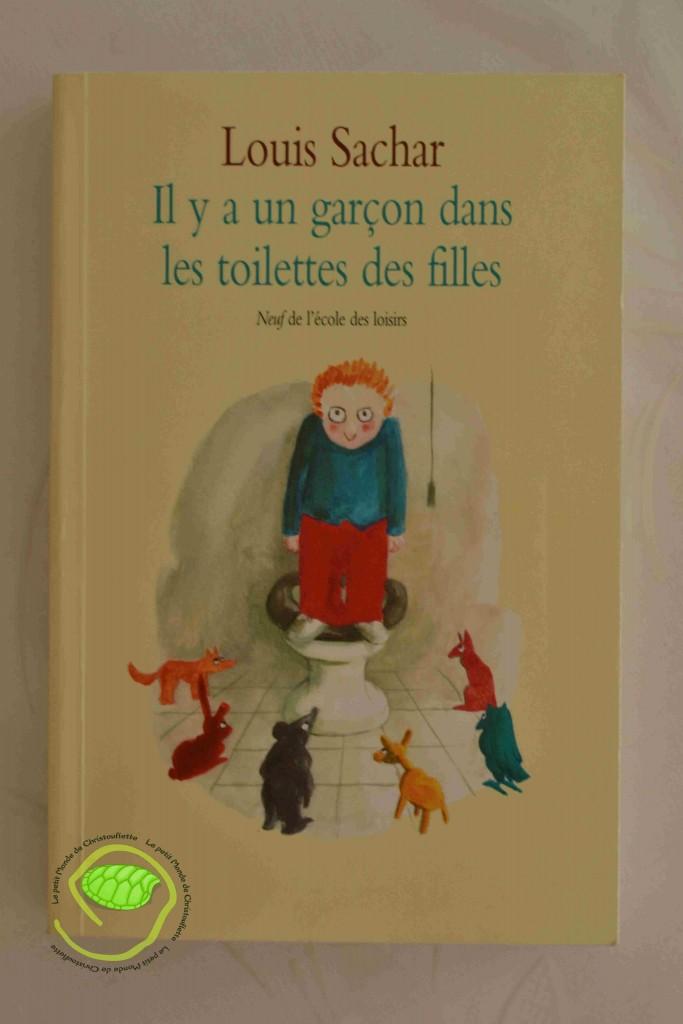 """""""Il y a un garçon dans les toilettes des filles"""" de Louis Sachar"""