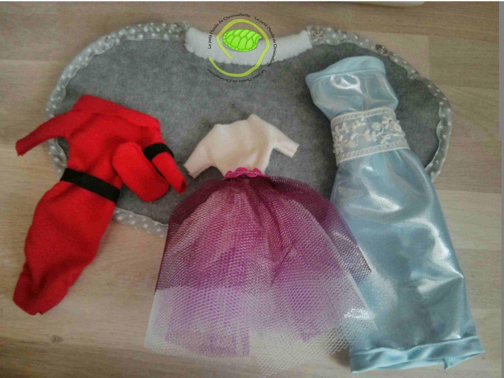 """vêtements pour """"Barbie"""""""